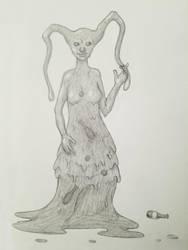 Slime - 30 Day Monster Girl Challenge by ObsceneProfane