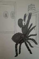 Spider Girl - 30 Day Monster Girl Challenge by ObsceneProfane