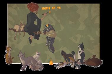 Morwen + Cats by fishcapades