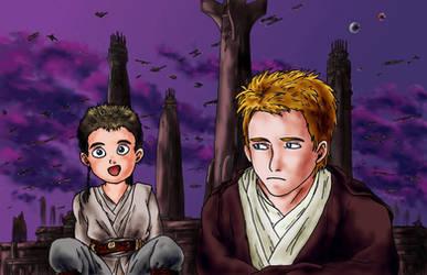 Obi and Ani by simara24