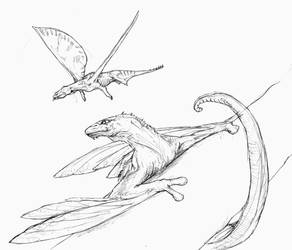 Other flying animals by Gredinia