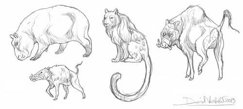 Futures animals, for  Sugar-Creator by Gredinia