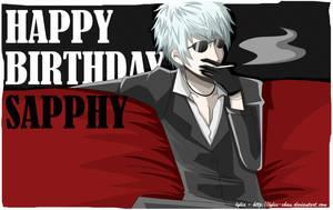Happy birthday, Sapphy by Lylia-chan