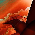 stair, then door by manasrah