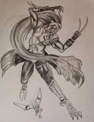 Bezerker Sephiroth by PhantomSephiroth