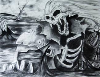 Undead Sephiroth-Bad voodoo by PhantomSephiroth