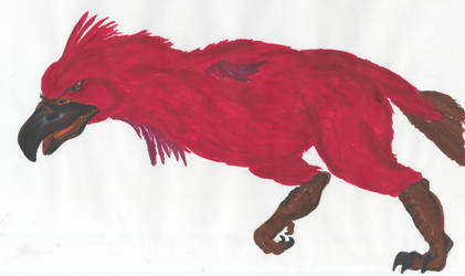 Red War Bird De Soto by PhantomSephiroth