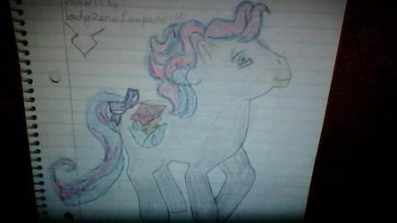 Mlp  Rose Rain  Drawing   2011 by phoenixgeassfire666