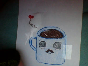 Kawaii Coffee Cup by phoenixgeassfire666