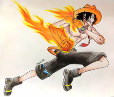 Fire Fist Ace by Amana-HB