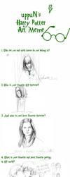 uppuN's Harry Potter Art Meme by Hongqian