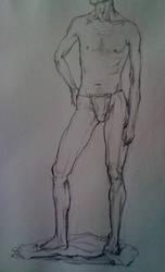 sketch by Hongqian