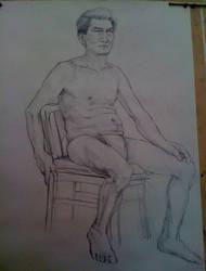 a drawing by Hongqian