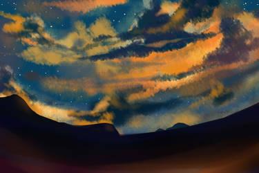 sky by lorrainer