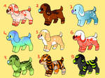 Cheap Puppy Adopts - 25 points each - OPEN by Hoffnungsstern