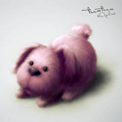 dog by tea00
