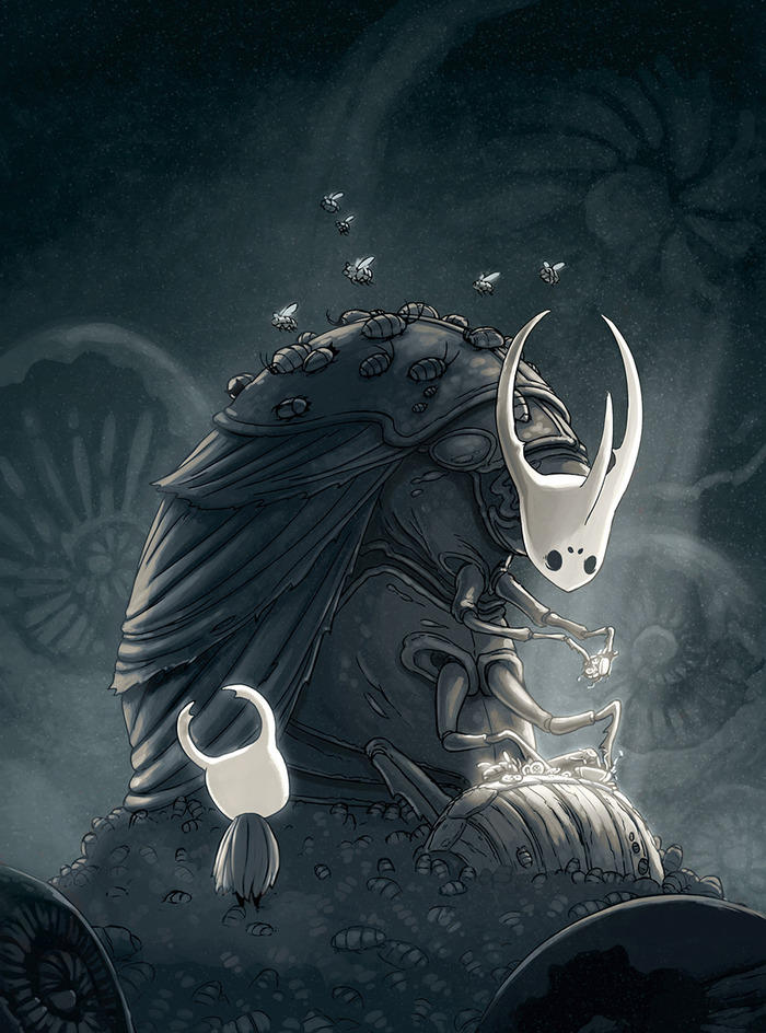 Hollow Knight Concept Art #2 by teamcherry