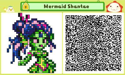 Mermaid Shantae Pushmo Card by thenardsofdoom