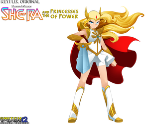 Princess Adora/She-Ra render by snitchpogi12
