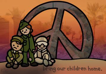 stop war. by kitskids