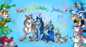 Happy Birthday, Joshua! by joshbluemacaw