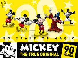 The True Original - Mickey Mouse's 90th Birthday by joshbluemacaw