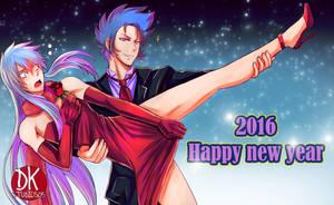 Happy New Year 2016 by DKSTUDIOS05