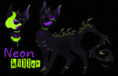 Neon killer ~cyclot auction~ [HOLD] by SilverLoon
