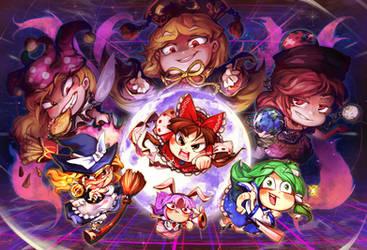 Let's play Touhou LOLK by takabubu