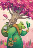 Green Bear 1 by DenisSerkov