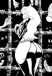Satana Hellstrom by OneSheepArmy