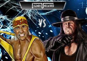 Hulk Hogan vs Undertaker by Bardsville