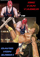 Big Van Vader vs David Von Erich by Bardsville