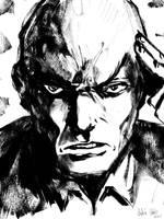 Professor Xavier Sketch by Andre-VAZ