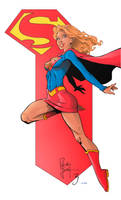 Supergirl by Andre-VAZ