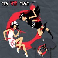 Spy VS Spy - Yin VS yang by amegoddess