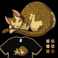 A-mazing Catnap by amegoddess