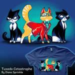 Tuxedo Catastrophe by amegoddess
