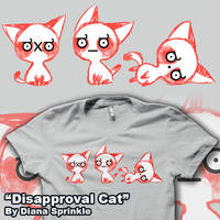Disapproval Cat by amegoddess