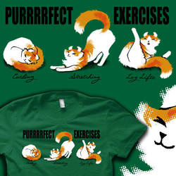 Purrfect Exercises - ON SALE NOW by amegoddess