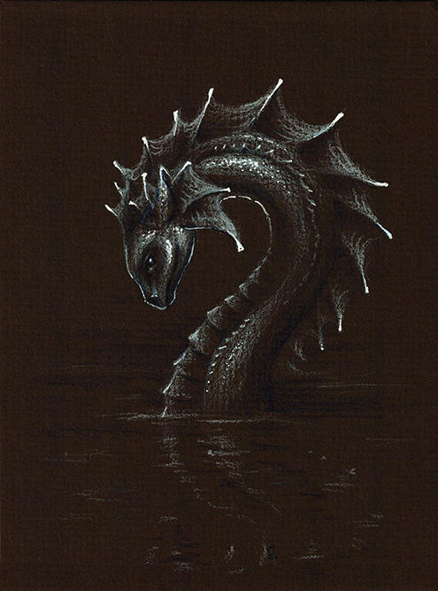Sea Serpent by dracontiar