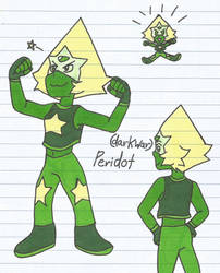 (dark War) Peridot by shawnventura