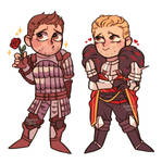 Alistair + Cullen by RoorenSama