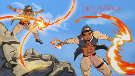 [request] Naruto- JohnnyBlaze by wabi777