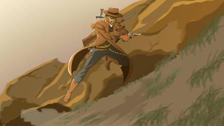 Gunslinger [PayPal Commission] by wabi777
