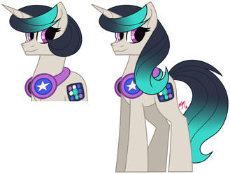 Meet NG: Soundwave Soprano by MissMele-Madness