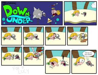 Down Under Strip 9 by MaxWhittemore