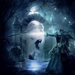 The Raven Queen by petronellavanree