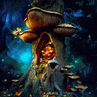 Troll King by petronellavanree