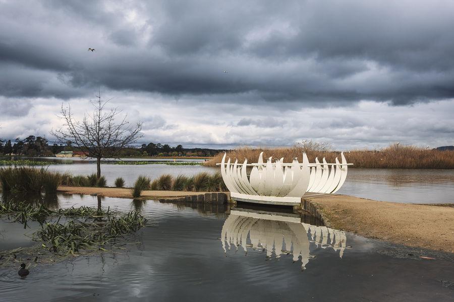 The white Bridge by petronellavanree